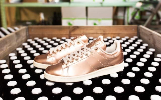 Sneakersnstuff x adidas Originals Stan Smith Copper Kettle