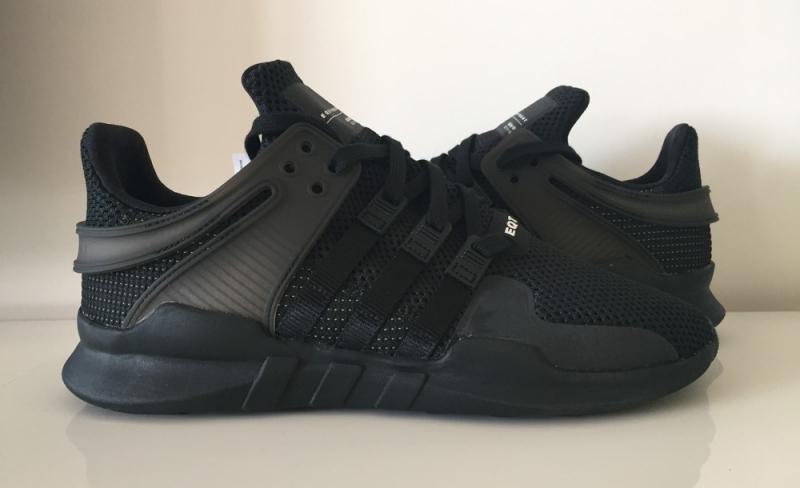 Adidas EQT Support ADV Triple Black 1ae643325