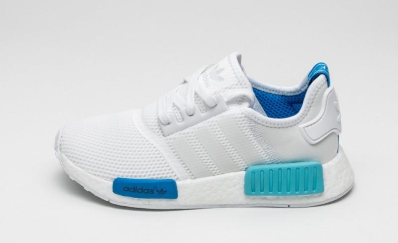 detailing 97665 84b46 ShoeFax - Adidas NMD Blue Glow Women