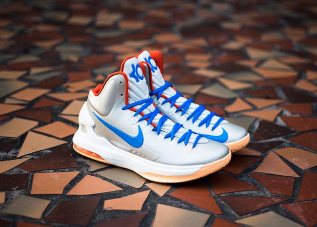 huge discount d8c57 af377 ShoeFax - Nike KD 5 Birch
