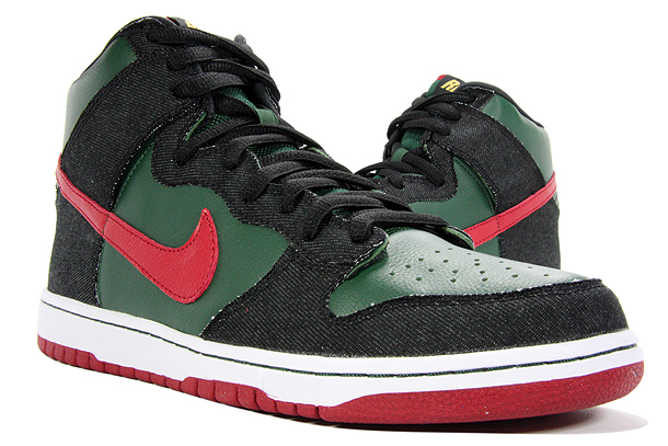 Nike Dunk High SB Deep Forest / Paprika