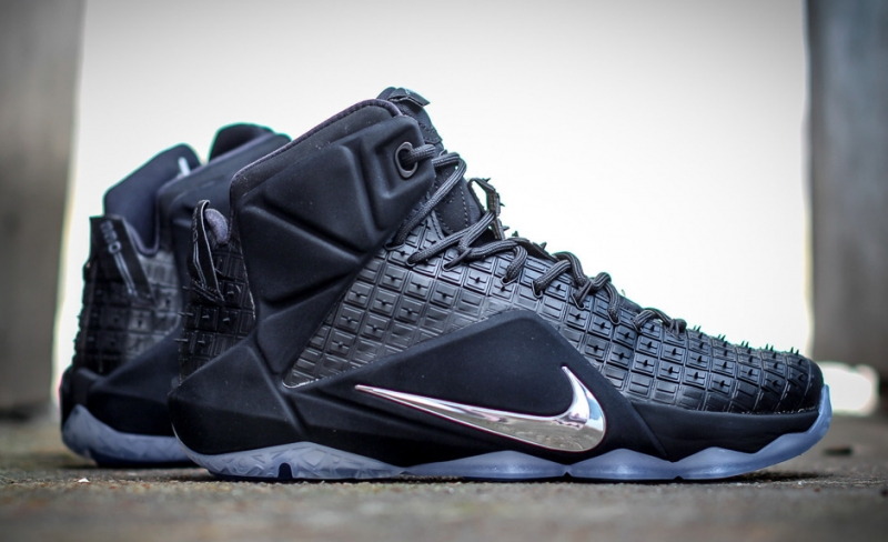297b977487b Nike LeBron 12 EXT Rubber City