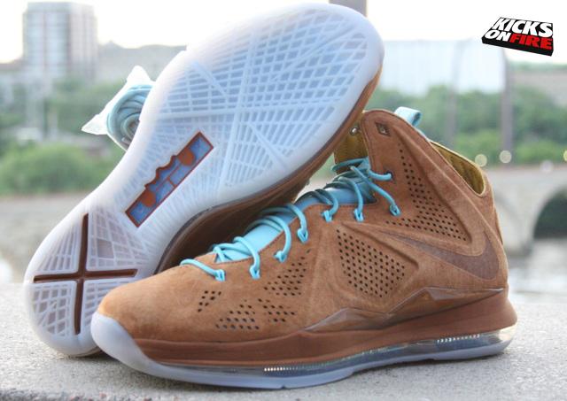 Nike Lebron 10 Hazelnut