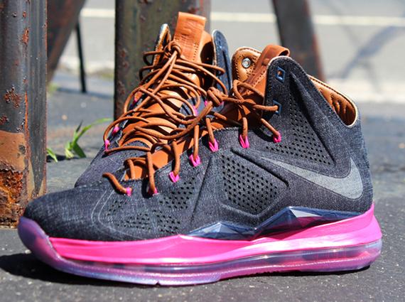 Nike LeBron 10 Denim