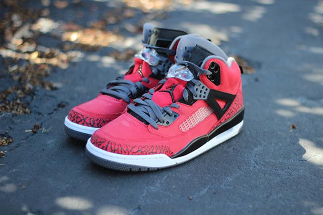 557e857cf2c1 ShoeFax - Air Jordan Spizike Gym Red