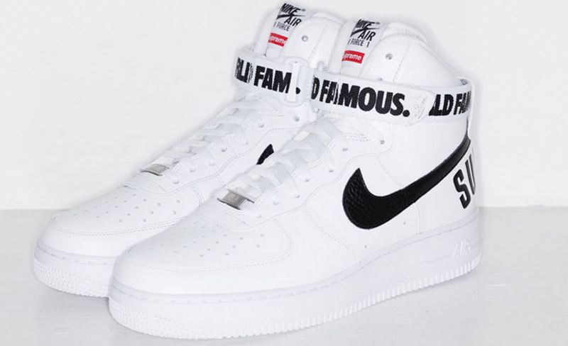Nike Air Force 1 High Supreme White