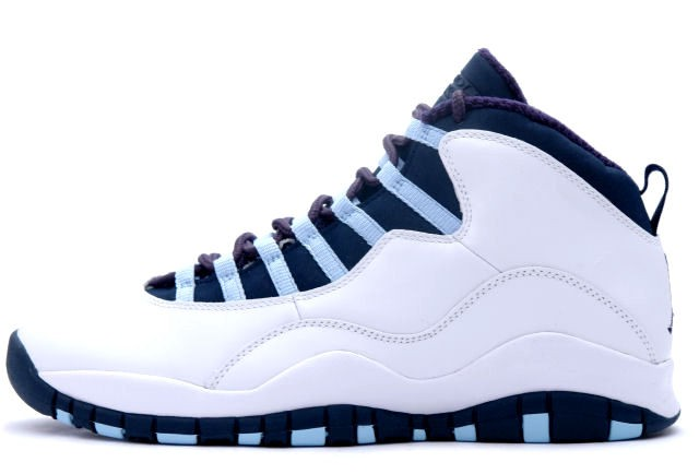 Air Jordan 10 Ice Blue