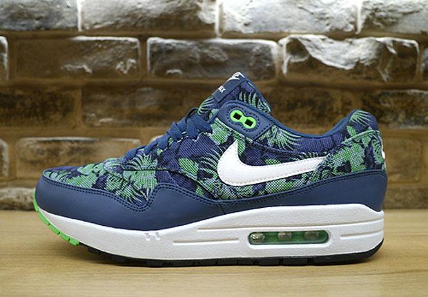 Nike Air Max 1 Blue Floral 327436a81