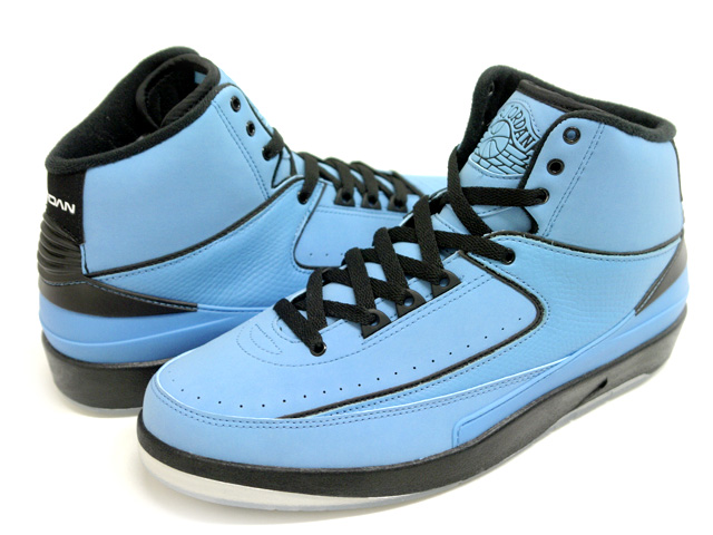 Air Jordan 2 University Blue / Black - White