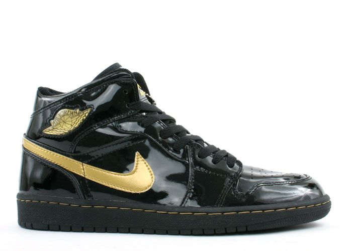 Air Jordan 1 Black / Metallic Gold 2003