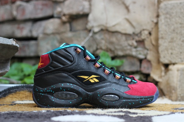 Reebok Question Mid Burn Rubber